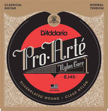 D'ADDARIO EJ45 PRO ARTE NYLON CLASSICAL GUITAR STRINGS