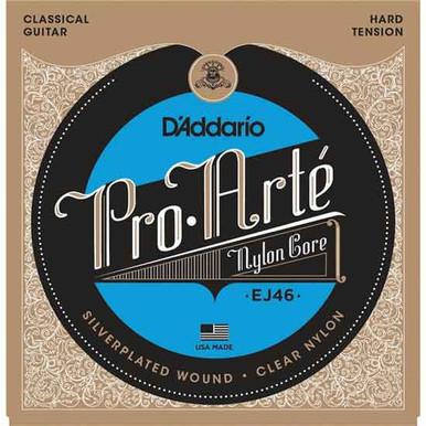 D'Addario EJ46 Pro-Arte Nylon Classical Guitar Strings - (Hard Tension)