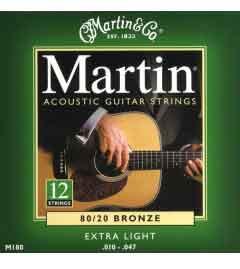 Martin 12-String Guitar String Set   010 Gauge