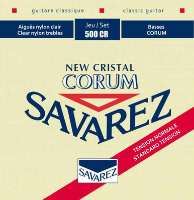 Savarez NEW CRISTAL CORUM NORMAL TENSION 500CR
