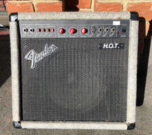 Fender HOT 75 Amplifier MAde in USA red knob