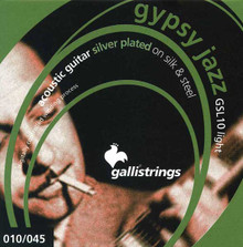 Galli GSL10 SILK & STEEL LIGHT Gypsy Jazz Strings