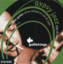 Galli GSL10 SILK & STEEL LIGHT Gypsy Jazz Strings
