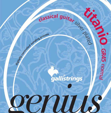 Gallistrings GENIUS TITANIO Classical guitar strings Normal tension
