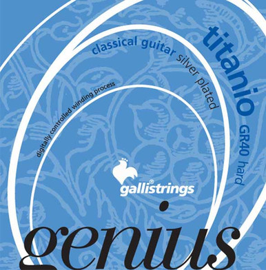Gallistrings GENIUS TITANIO Classical guitar strings Hard tension