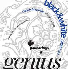 Gallistrings GENIUS BLACK & WHITE Hard Tension