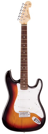 Sx 3/4 Electric Guitar Package Three Quarter Size