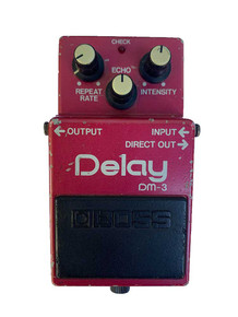 BOSS DM-3 Delay Pedal