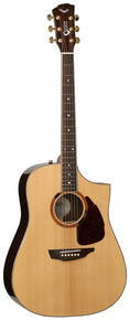 SGW Samick Guitar Works S750D Acoustic Electric Guitar