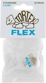 Dunlop Tortex Flex Standard Guitar Picks Blue 1.00mm 12 Pack
