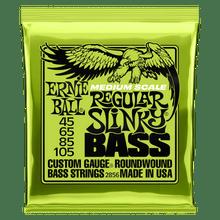 Ernie Ball Regular Slinky Nickel Wound Medium Scale Bass Strings - 45-105 Gauge