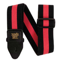 Ernie Ball Stretch Comfort Strap - Racer Red