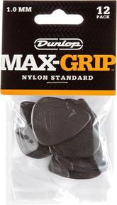 Dunlop Max-Grip Standard Guitar Pick 1.0mm 12-Pack