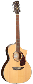 SGW S350C Grand Concert Acoustic Electric Guitar