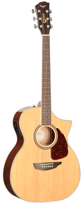 SGW S350OM Orchestra Acoustic Electric Guitar