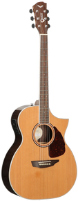 SGW S650OM Orchestra Acoustic Electric Guitar