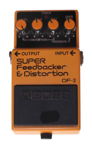 Boss Super Feedbacker and Distortion DF2