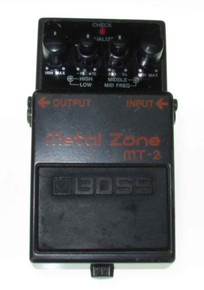 Boss MT2 Metalzone pedal