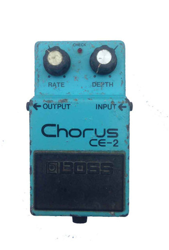 Boss CE2 Japanese Made Chorus Pedal with Black Label