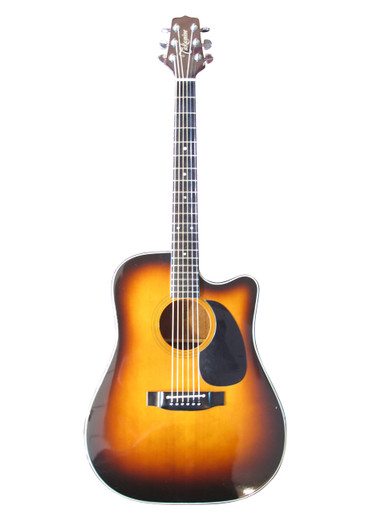 Takamine EF340SD C Japanese Made Semi Acoustic Guitar