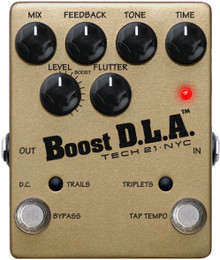 Tech 21 NYC Boost D.L.A Analog Delay Emulator Pedal