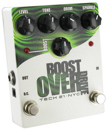 Tech 21 NYC Boost Overdrive Pedal