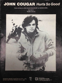 John Cougar Mellencamp Single Sheet Hurt so Good