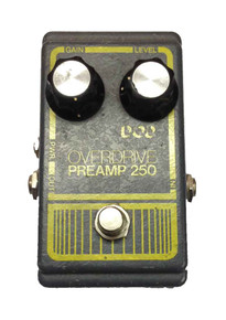 DOD Overdrive Preamp 250 Gray 1970's LM741CN chip