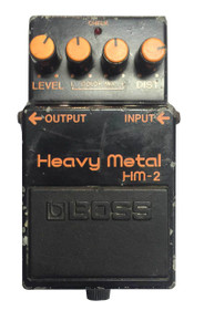 Boss Heavy Metal Padal HM2 Black Label Made in Japan