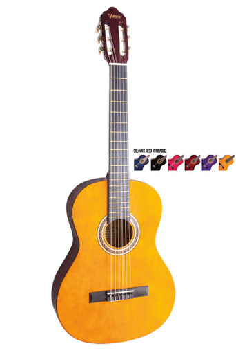 Valencia Three Quarter size Nylon String Guitar Package
