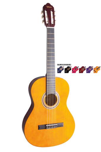 Valencia Three Quarter size Nylon String Guitar Package