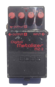 Boss Digital Metalizer MZ2 Blue Label Made in Japan