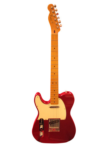 Fender Telecaster left handed made in Mexico 2012