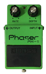 Boss PH1 Phaser Japanese 1980 Long dash silver screw vintage guitar effect pedal