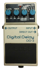 Boss DD3 Digital Delay guitar effect pedal