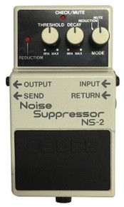 Boss NS2 Noise Suppressor guitar effect pedal