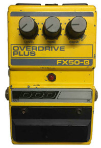 Dod FX50B Overdrive Plus Guitar Effects Pedal (DODFX50B)