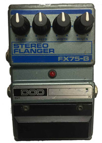 DOD FX75-B Stereo Flanger Guitar Effects Pedal