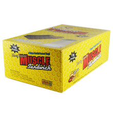 MUSCLE FOODS USA MUSCLE SANDWICH, 12 BARS