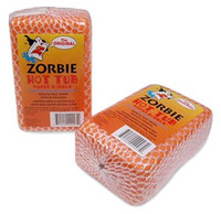 Zorbie Scum Brick, rids your spa water of scum, and odors