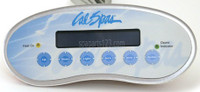 ELE09200593 Cal Spa Topside Control Panel 2300, W/BLUE BACKLIGHTING W/ OPT '01