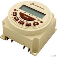 Intermatic Spa Time Clock, Spa Timer, Electric, 7 Day, SPST 20A 120V ( PB373EB )