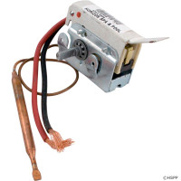 Spa Thermostat Mechanical 1/4-6 w/short leads