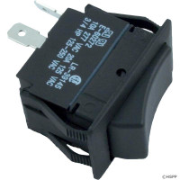 Spa Rocker Switch SPST, 20A 120v (large size)