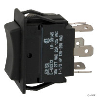 Spa Rocker Switch, DPDT Center Off