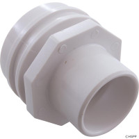 "Spa Jet Flush Mount 1-1/2"" Insert-White, Waterway(4)"