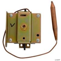 """Double Pole Spa Heater Hi Limit DPST 40A 5/16"""" x 8"""" Capillary"""
