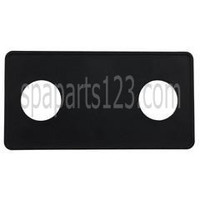Spa #15 2-Button Panel Deckplate