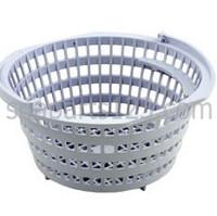 Rainbow  Skimmer Basket, Light Gray