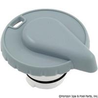 """Hydro-Air Slimline Tear Drop Air Control, 1"""" Stem Assy, [Grey,White]"""